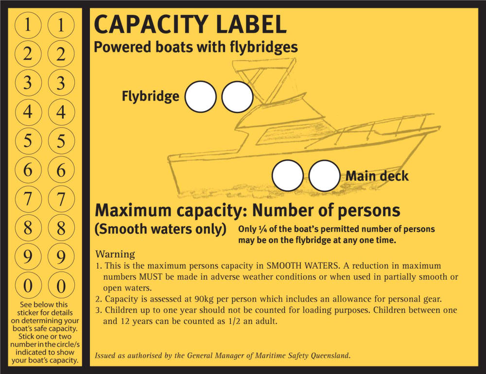Boating Safety Stickers