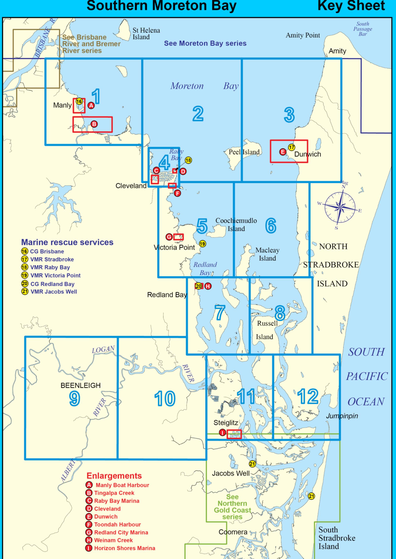 Southern Moreton Bay Map Index